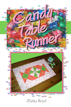 """Candy Table Runner"" Pattern for Sale"