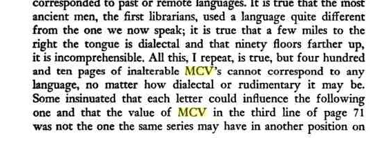 MCV MCV