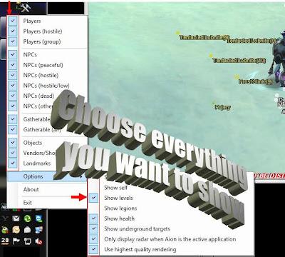 Aion Hack [Radar Overlay]