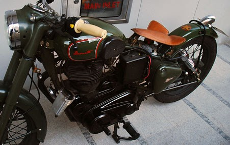 RoyalEnfields.com: Royal Enfield custom triumphs over rules