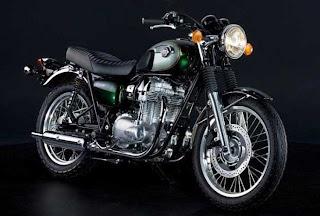Kawasaki W800.