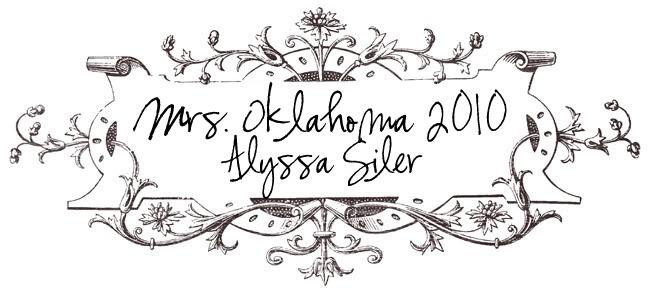 Mrs. Oklahoma 2010 ALYSSA SILER