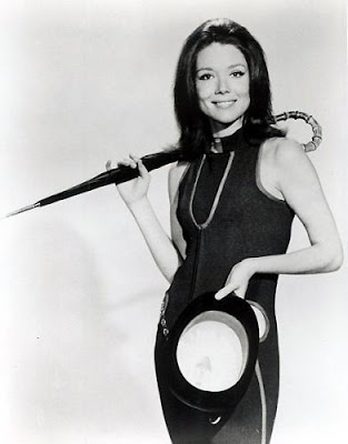 Chapeau melon et bottes de cuir - The Avengers - Diana Rigg, Patrick Macnee, Honor Blackman, Linda Thorson - Blog with a View - blog-with-a-view.blogspot.com