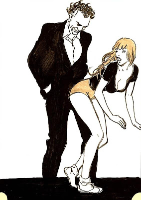 Mino Manara, fille et homme dominant - Blog with a View