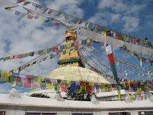 Bouddanath, in Kathmandu