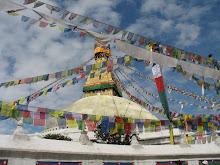 Bouddanath, in Kathmandu