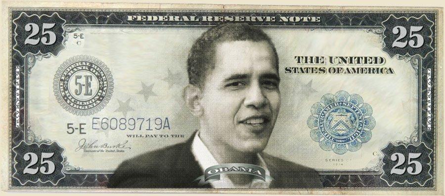 TwentyFiveDollarBill Why 25 Dollar Bill