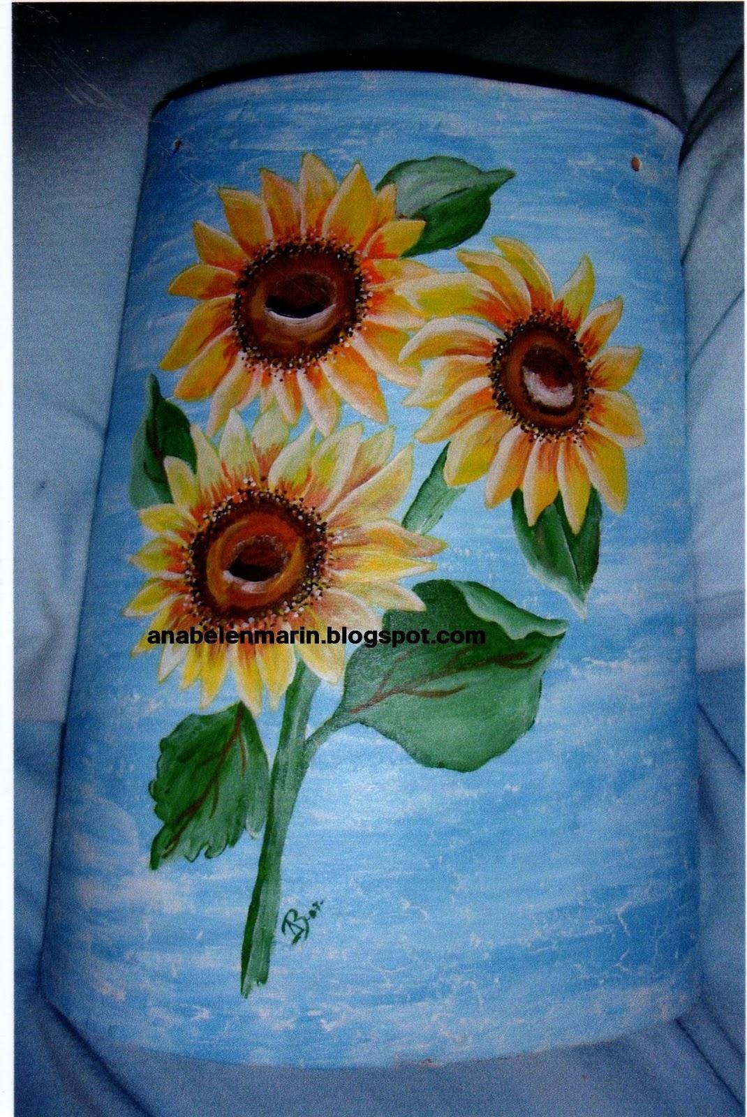 Artesania ana belen marin tejas for Pintura para tejas