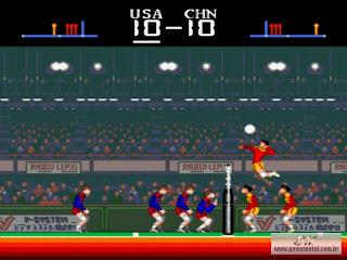 Super Voley Ball (Não existe game melhor desse esporte)