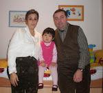 Papá, Mamá y Rocío Xue