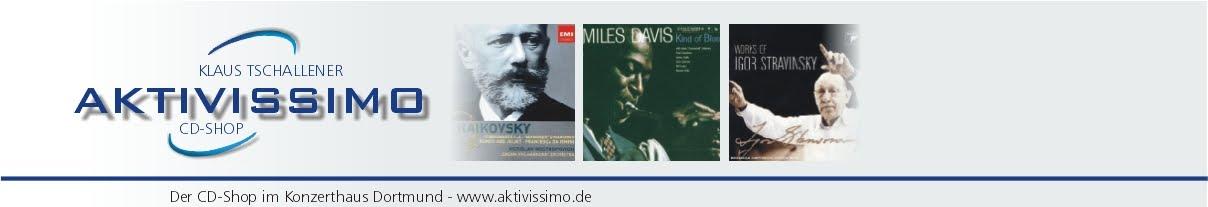 Aktivissimo - ehemalieger CD Shop im Konzerthaus Dortmund