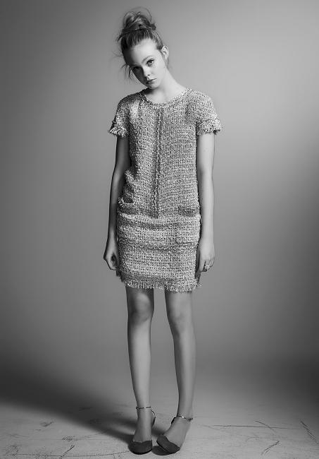 Arabian Fashionista: Elle Fanning for Interview magazine