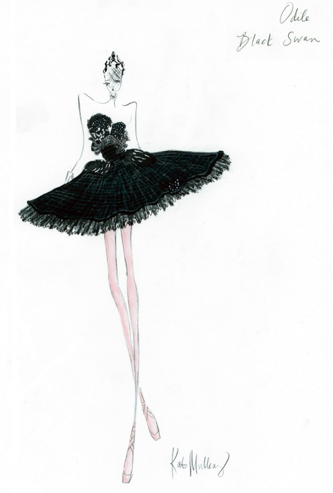 Rodarte Costume from Black Swan & Natalie Portman as The Black Swan