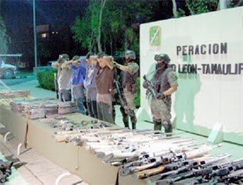 sicarios detenidos por militares