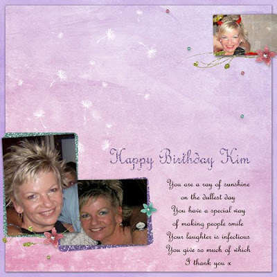 digital scrapbooking freebies Happy Birthday Kim B ; )