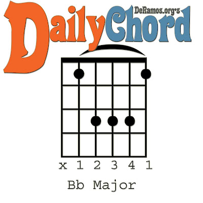 Chord du Jour: Lesson #64: Bb and the Capo / Barre (Guitar, Beginner ...