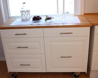 Barbros lille atelier: kjøkkenøy