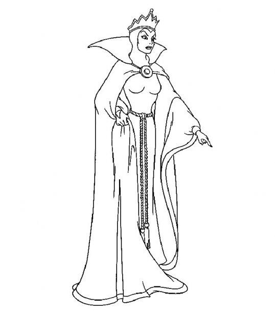 Disney Soul Dibujos para colorear de Blancanieves y los Siete