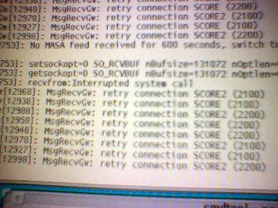 Huh..error mesej di Server!