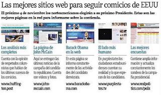 sitios de interés para informarnos sobre la elección