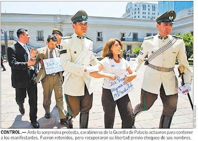 sin precedente la adhesión a paro por parte de funcionarios del palacio de gobierno ... ¡algo pasa!