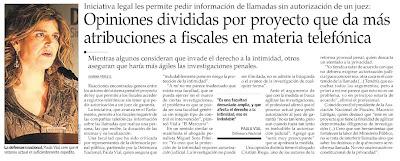 El Mercurio, Sábado 24 de 2009