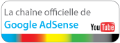 Retrouvez toutes les vidos Google AdSense sur YouTube!