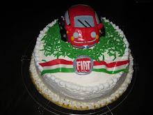 TORTA FIAT 500