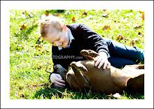 Brayden & Hershey - November 2009
