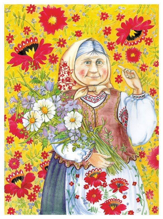 Рисунок для бабушки - 40