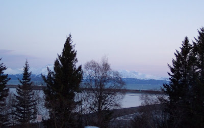 Dusk over Kachemak Bay