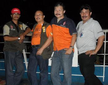 Di atas kapal Ferry