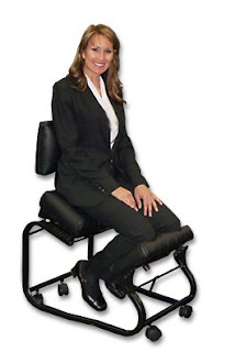 Workplace ergonomics chair