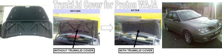 Proton WAJA's and Proton IMPIAN'sTrunklid Cover