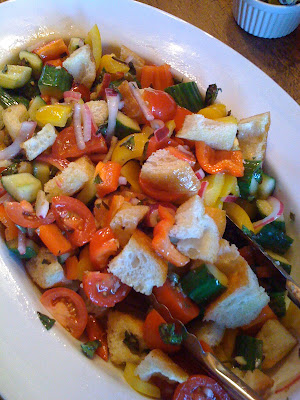 panzanella salad &#8211; guilt-free party dish