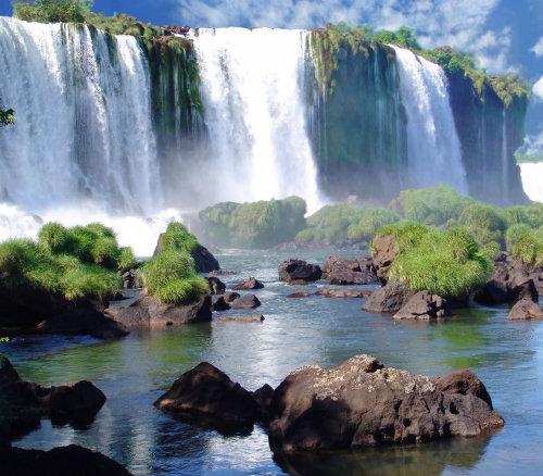 waterfalls in Paraguay
