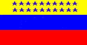 Bandera de Venezuela 1859