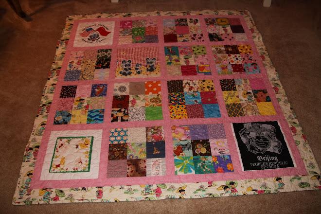 100 WISH quilt