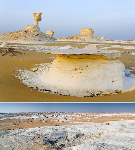 Farafra (Egypt): the white desert