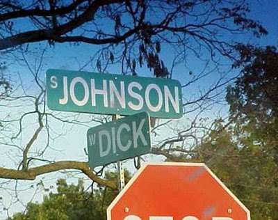 Funny Street Intersections