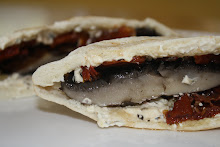 Sun Dried Tomato and Portabella Pockets
