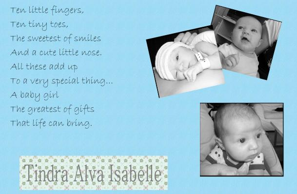 Tindra Alva Isabelle