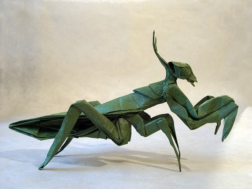 origami artist mike van horne