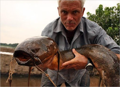Makhluk Sungai dengan Bentuk Aneh dan Mengerikan