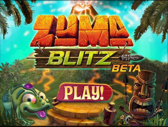 Happy Cloud Moments New Facebook Game Zuma Blitz