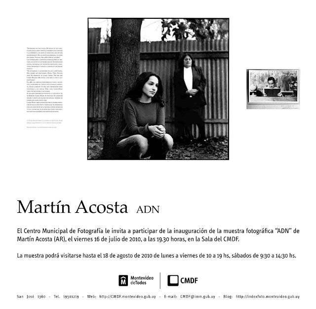 MUESTRA ADN, historias de aparecidos en Montevideo, Uruguay