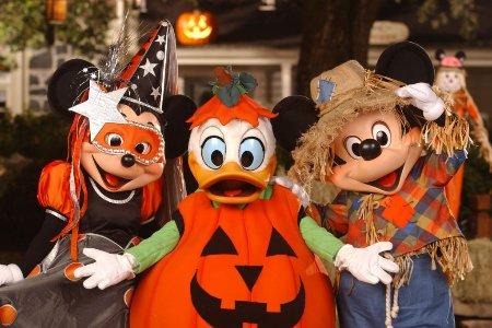Mickey's Not So Scary Halloween Party.