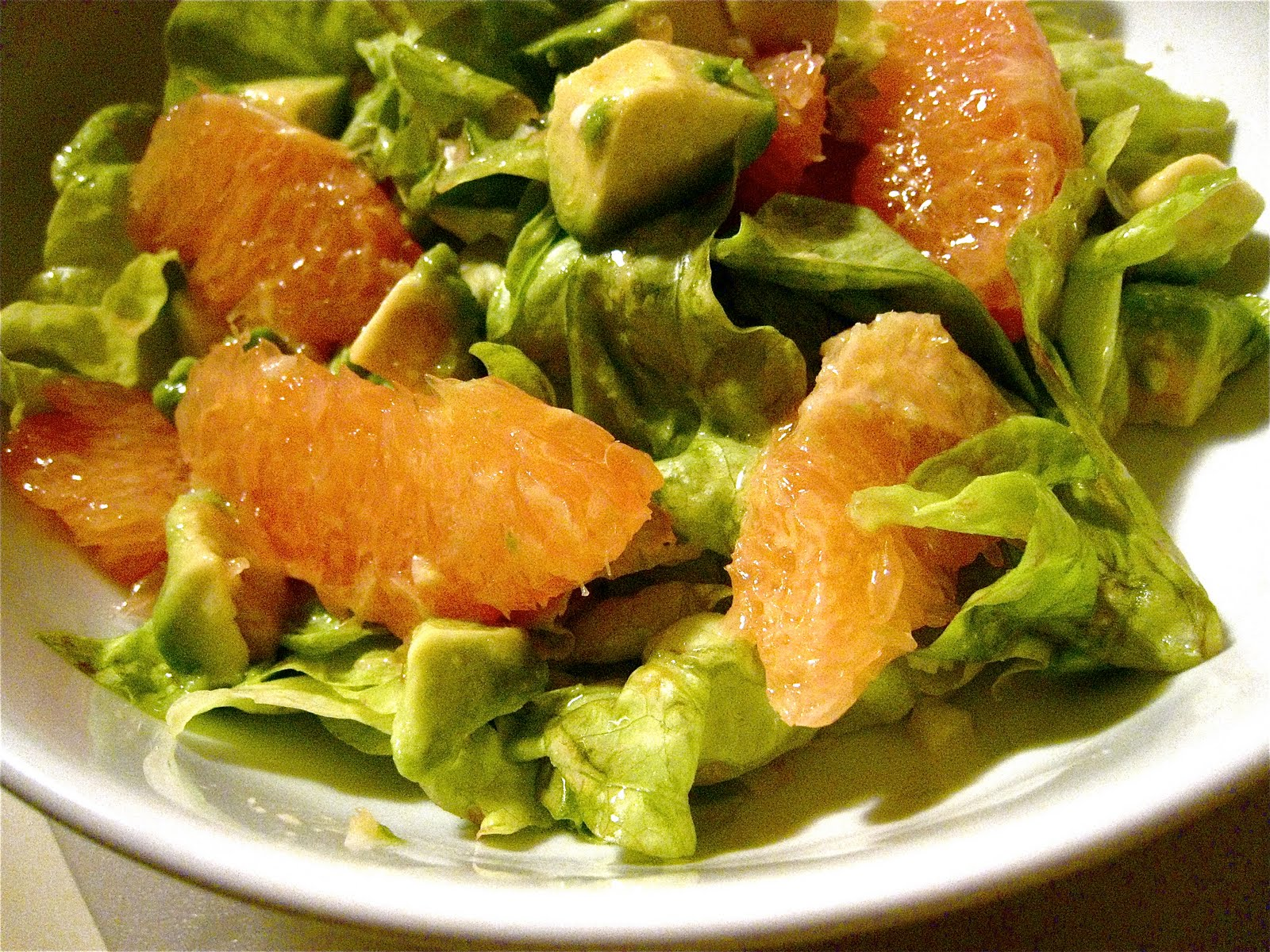 KITCHEN FIDDLER : Avocado Grapefruit Salad To Win Your Heart