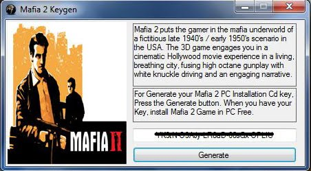 Получил ключ на Mafia II и Civilization Пришлось там второго бота.