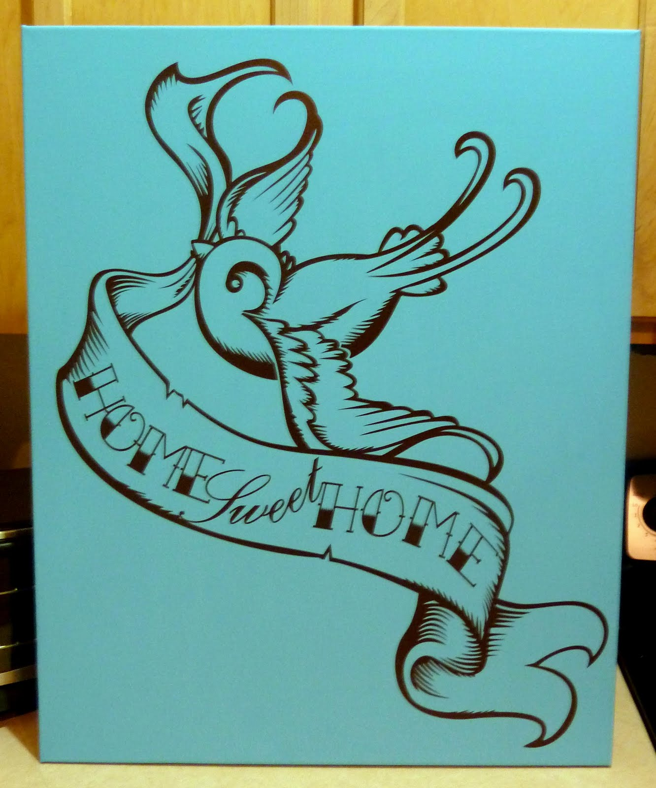 The Painting Libra August - Can i put a wall decal on canvas